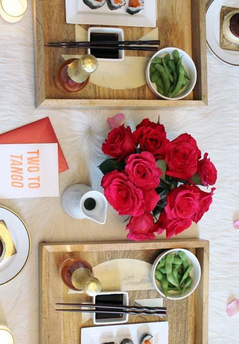 aposte nos pratos que você e o seu amor mais gostam de compartilhar!