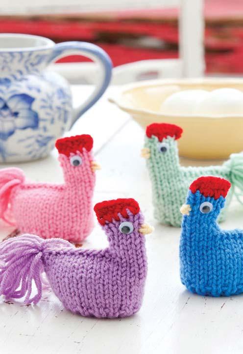 adornos de crochê com essas aves que são as favoritas da decoração de cozinhas