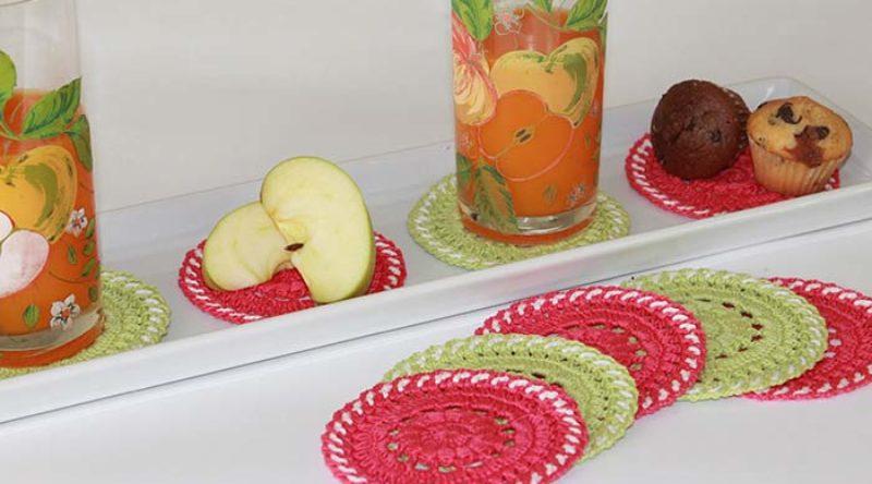 Jogo de cozinha de crochê: inspirações e como fazer o seu