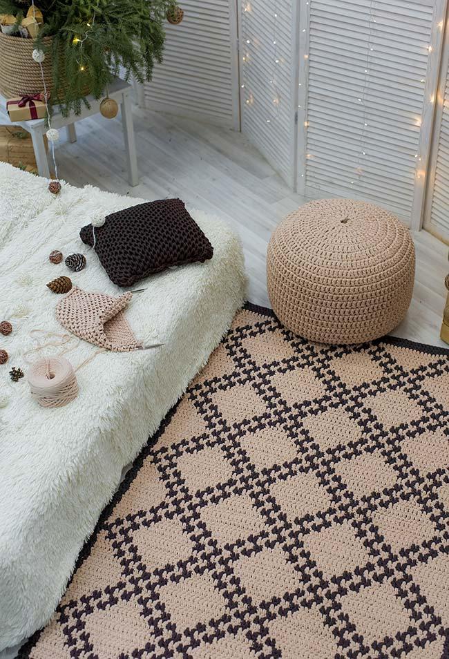 Ambiente relaxante e inspirador para quem ama crochê