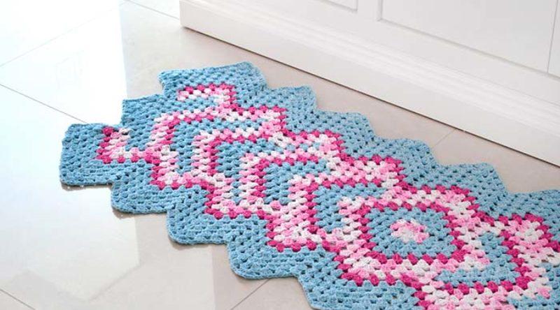 Passadeira de crochê: saiba como fazer com incríveis ideias