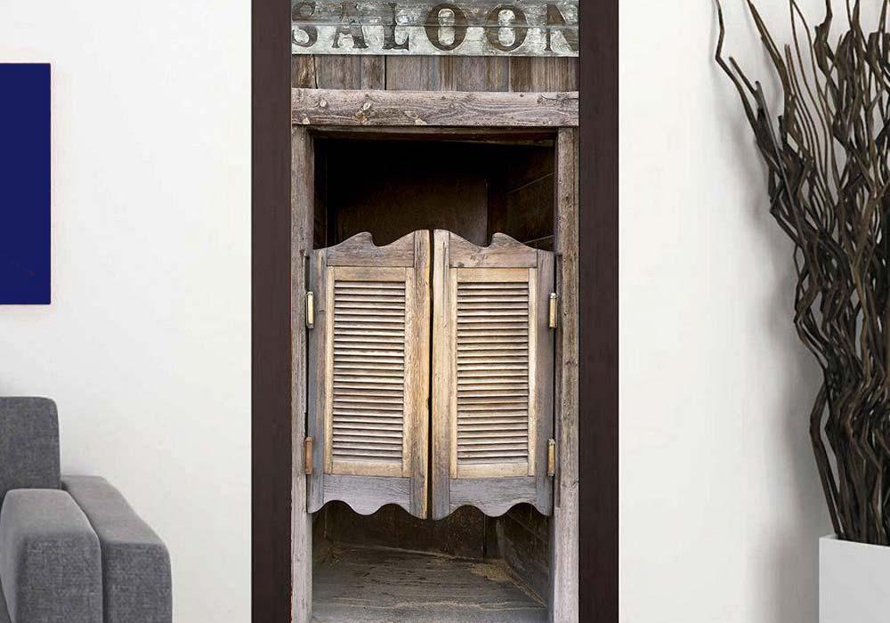 Porta bang bang ou saloon