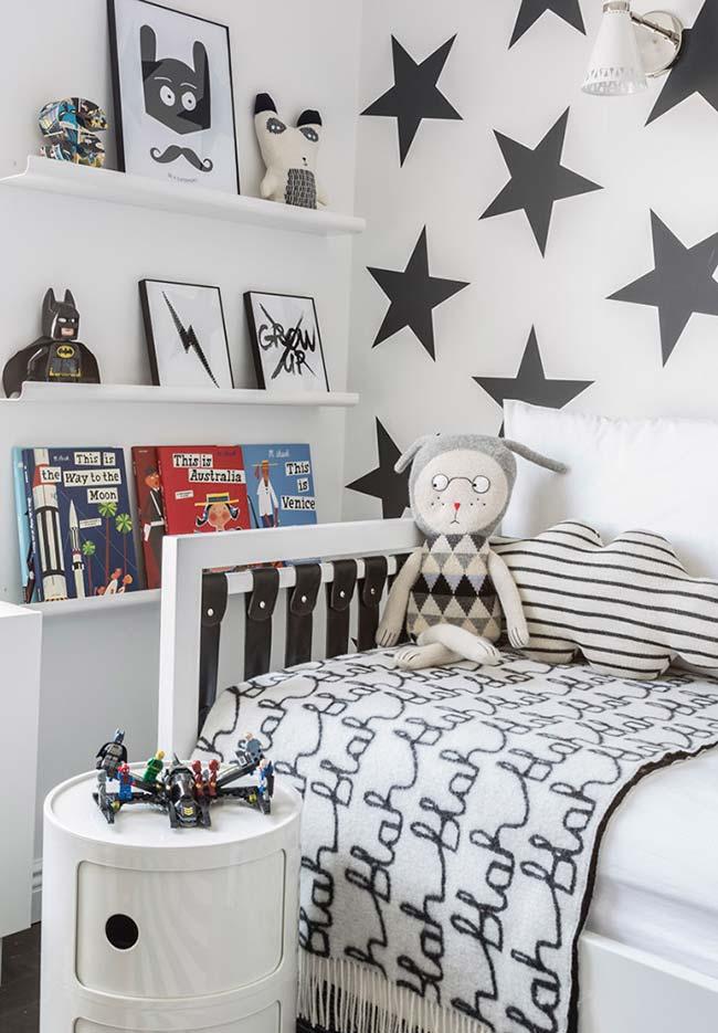 Decoração quarto de menino com destaque para as paredes