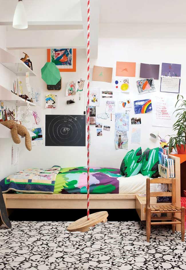 Parede lousa para expressar a criatividade: chega daquela história de que não pode riscar a parede