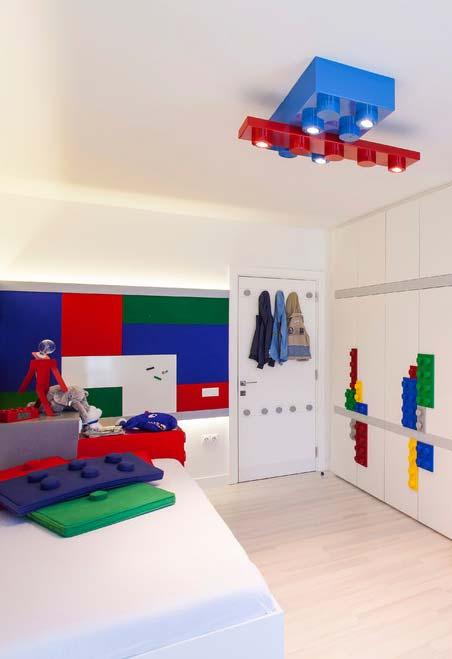 Quarto de menino com tema Lego