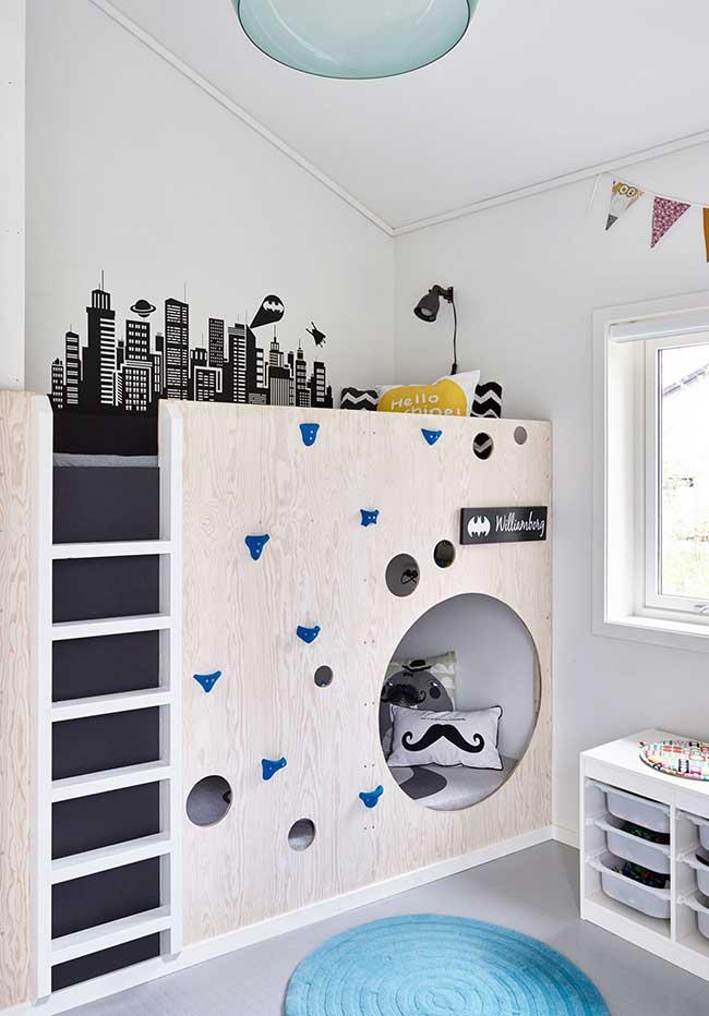 Outra ideia de quarto de menino para dois irmãos