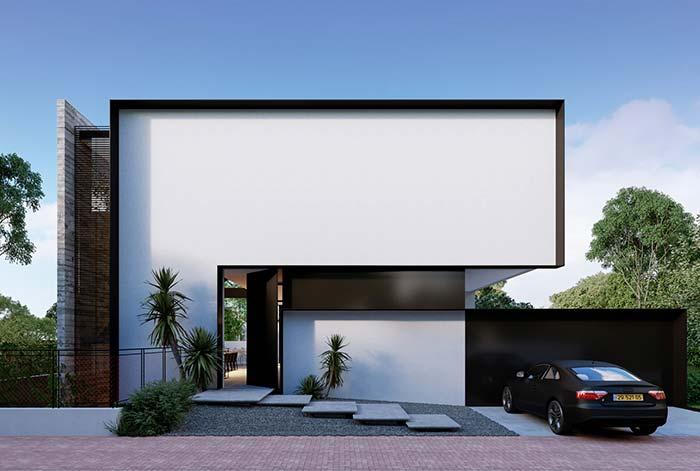 Arquitetura moderna é a sua praia? Então essa casa vai te encantar