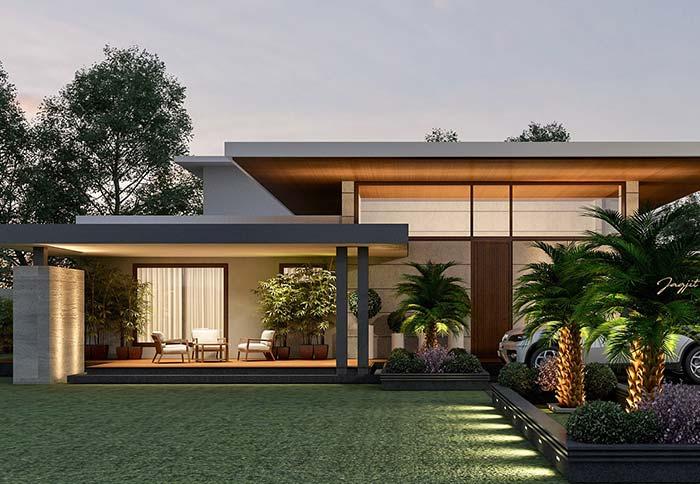 Se pretende economizar um dinheirinho, use telhas mais econômicas como as metálicas ou de fibrocimento no telhado embutido