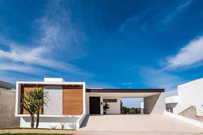 Arquitetura simples, mas marcante