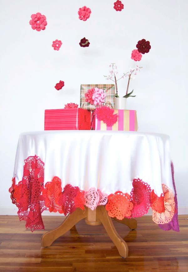 Toalhas de mesa convencionais de tecido