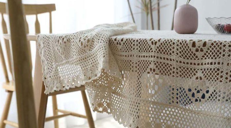 Toalha de mesa de crochê: 55 modelos, ideias e fotos perfeitas