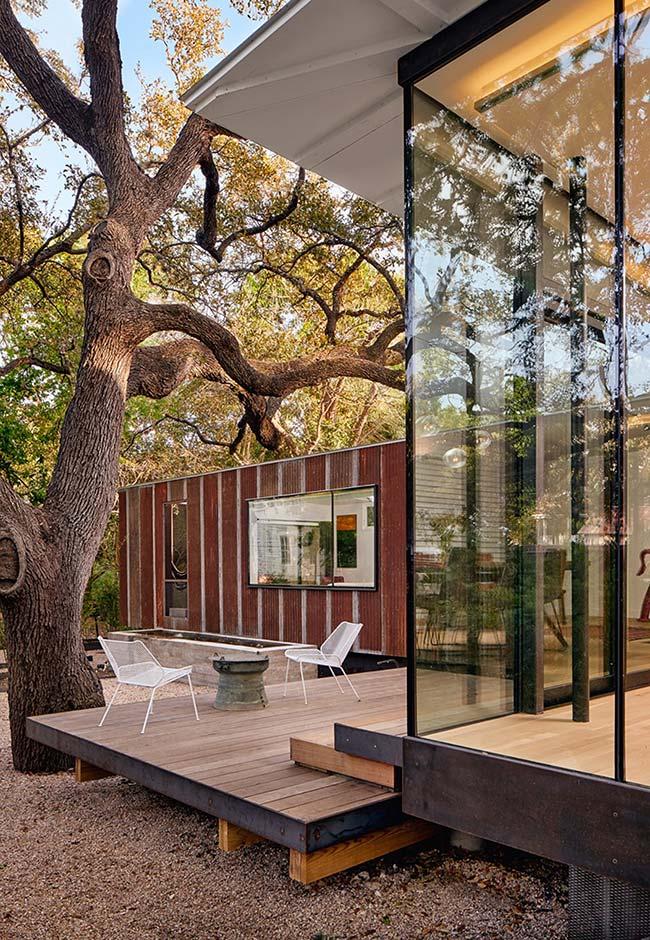 Use containers para criar espaços adicionais a construção da sua casa