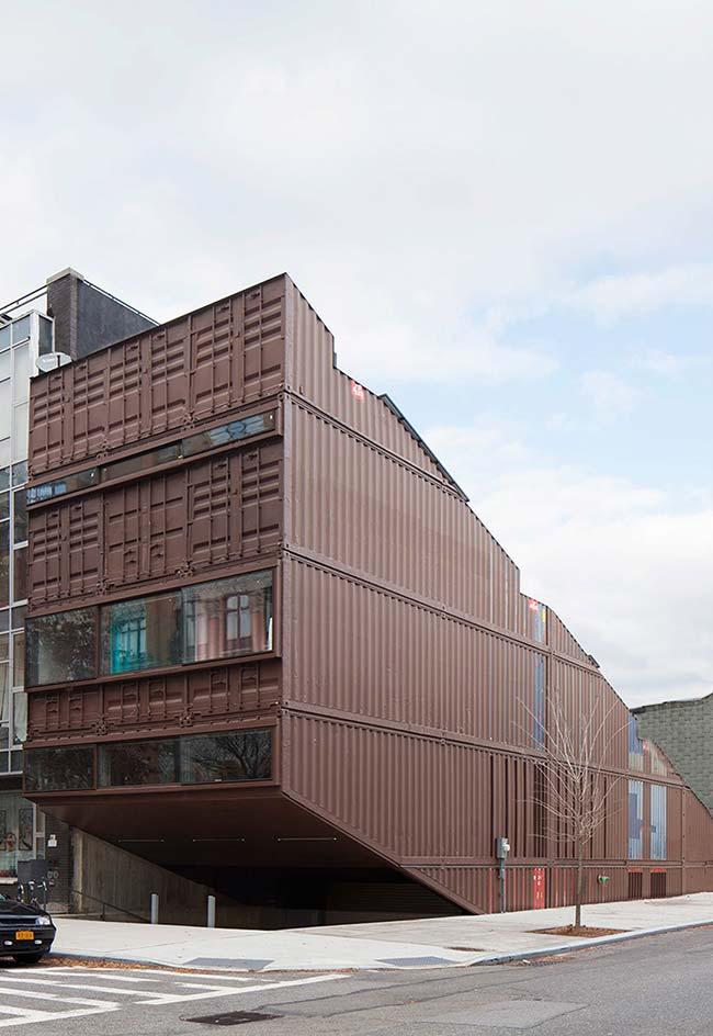 O container não precisa ser só sobre caixas retangulares