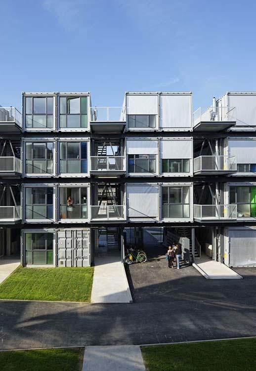 Outro complexo residencial feito só com containers