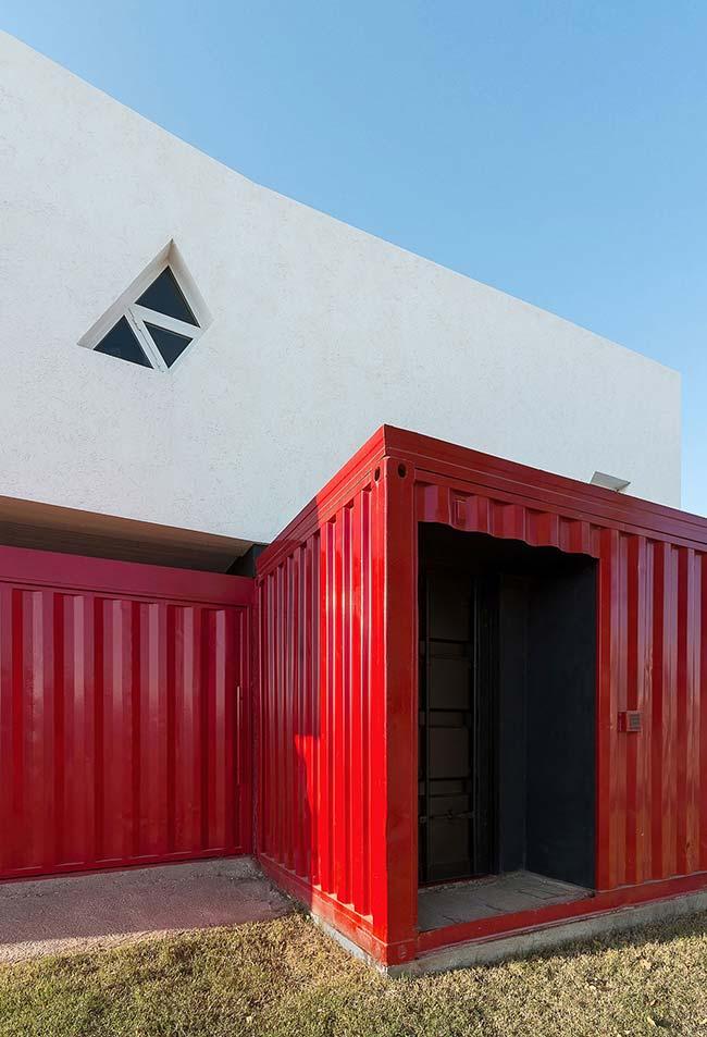 Continuação da casa container
