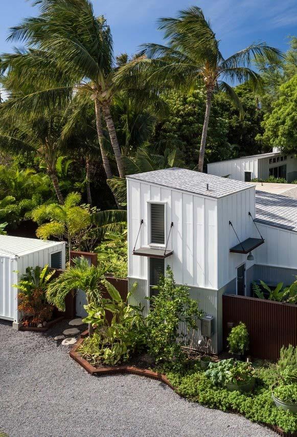 Casa container na natureza