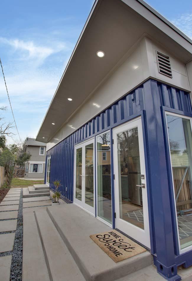 Lar doce Lar: casa container simples e personalizada ao seu estilo