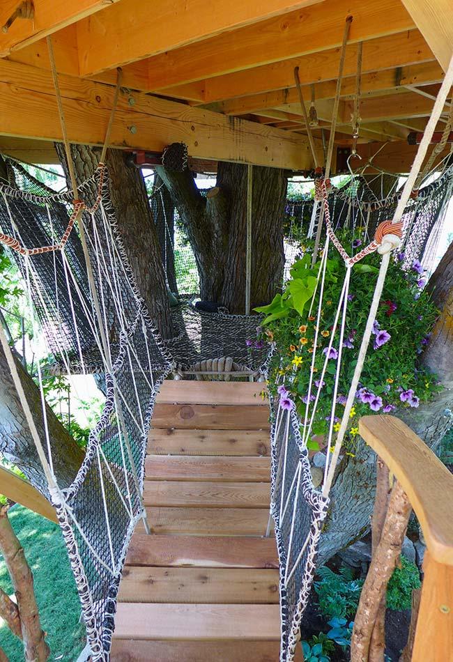Outra casa da árvore no estilo contos de fada: continuação