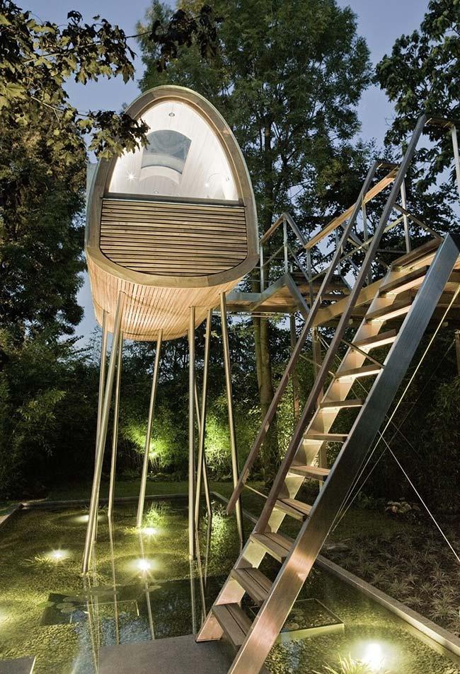 Inspiração de casa na árvore inovadora