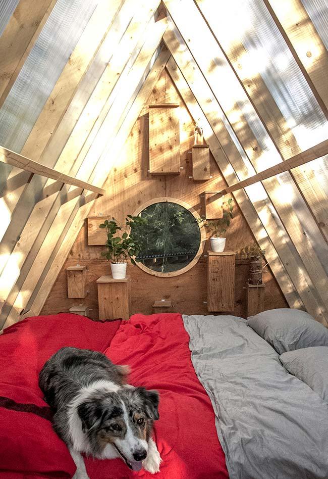 Casa na árvore triangular continuação