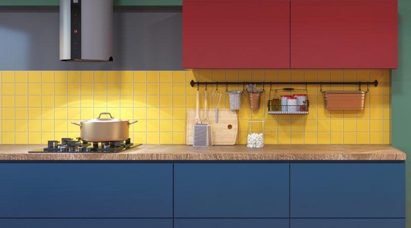 Cores para cozinha: 65 ambientes com tonalidades para encontrar a sua
