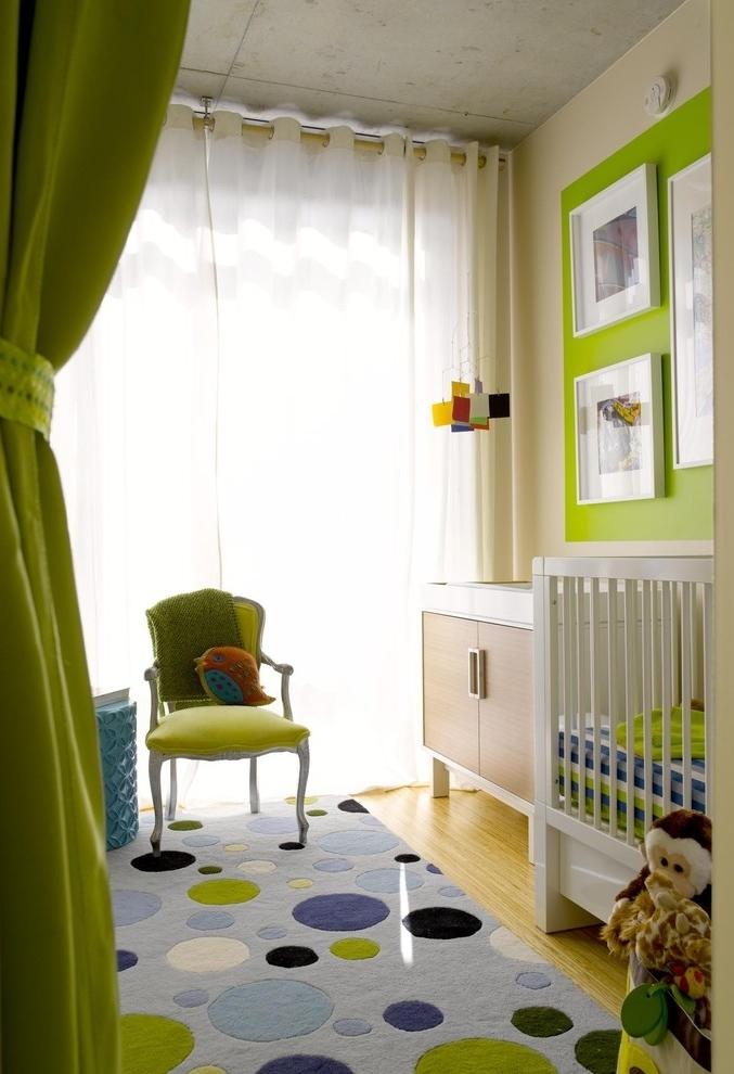 Mas se você prefere um tom mais vibrante e divertido para o quarto do seu filho, dê uma olhada nas paletas verde-limão!