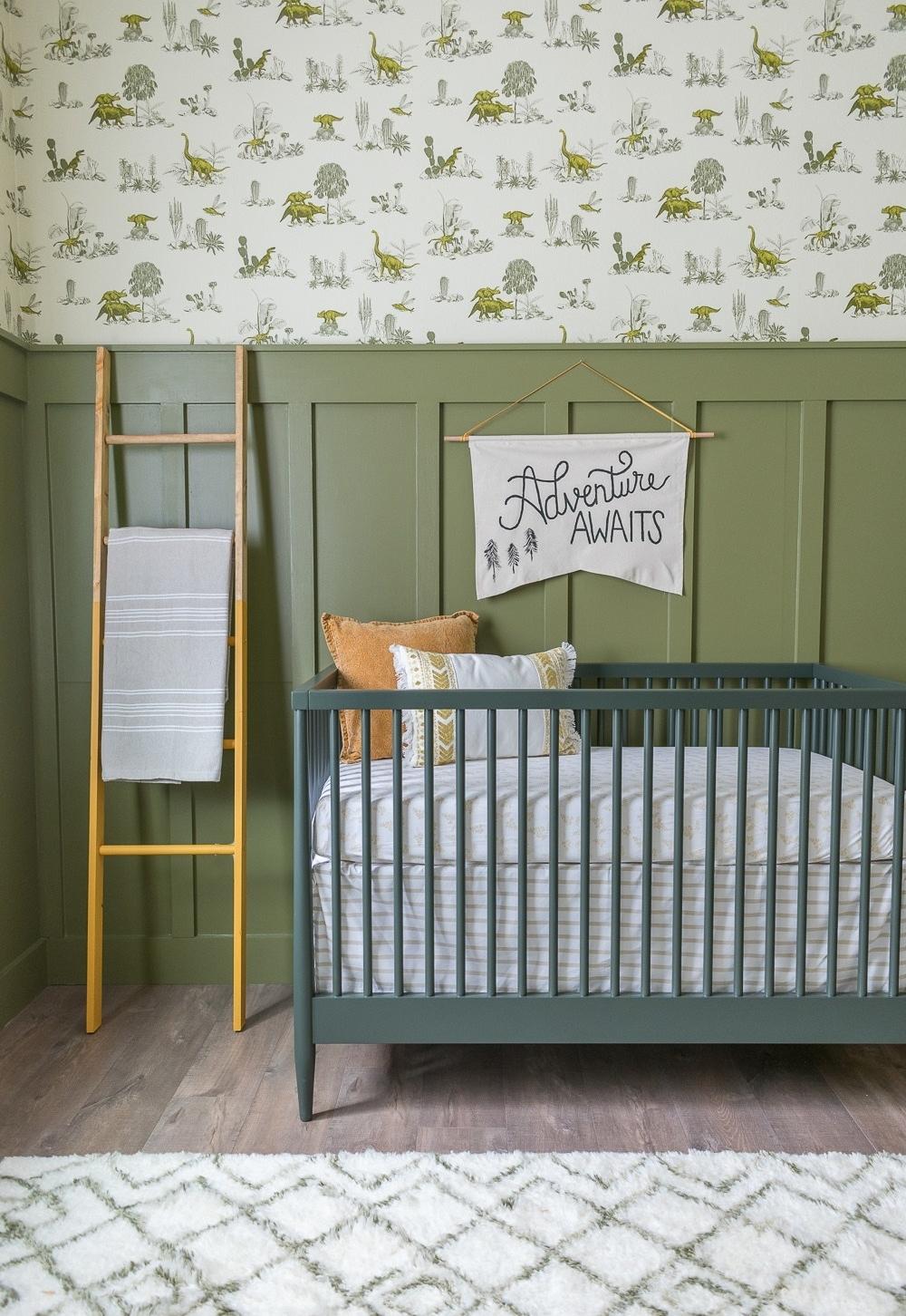Outra boa opção para ser considerada é o verde-oliva, que está voltando com tudo para a decoração de interiores