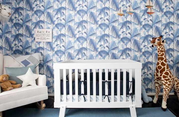 8254e4a1eb Um ponto decisivo para a decoração do quarto do bebê é a cor (ou cores) que  vai ser escolhida. É decisivo porque a cor traz uma atmosfera específica  para o ...
