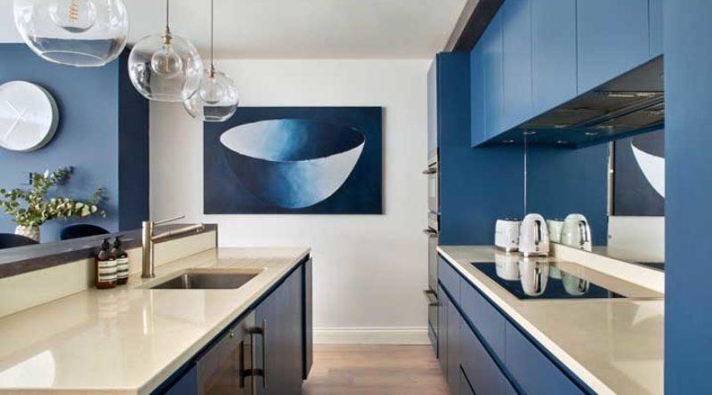 Cozinha azul: diferentes tonalidades em 65 projetos com fotos