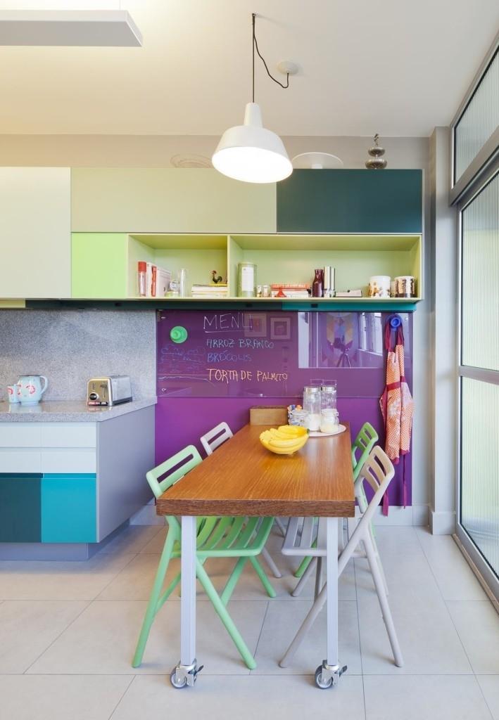Continuação da cozinha colorida anterior