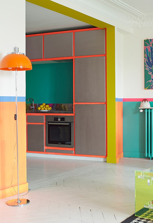 Uma casa colorida: composições de cores que rodeiam todos os ambientes e dão unidade para a decoração