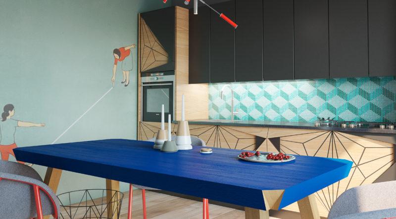 Cozinha colorida: descubra 65 ideias perfeitas para decorar