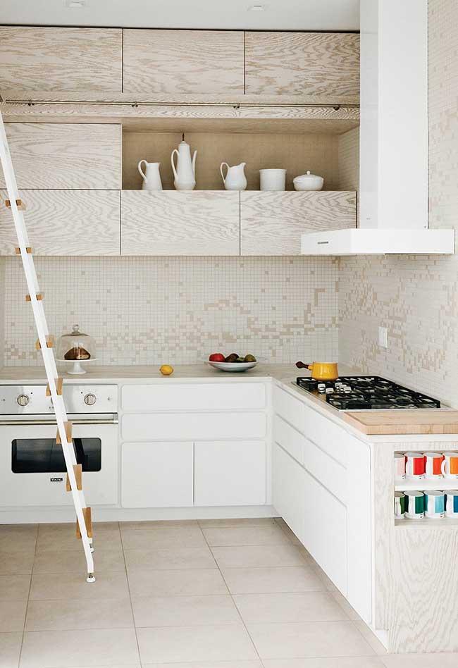 As cozinhas modernas também presam pela boa circulação do ar e da luz