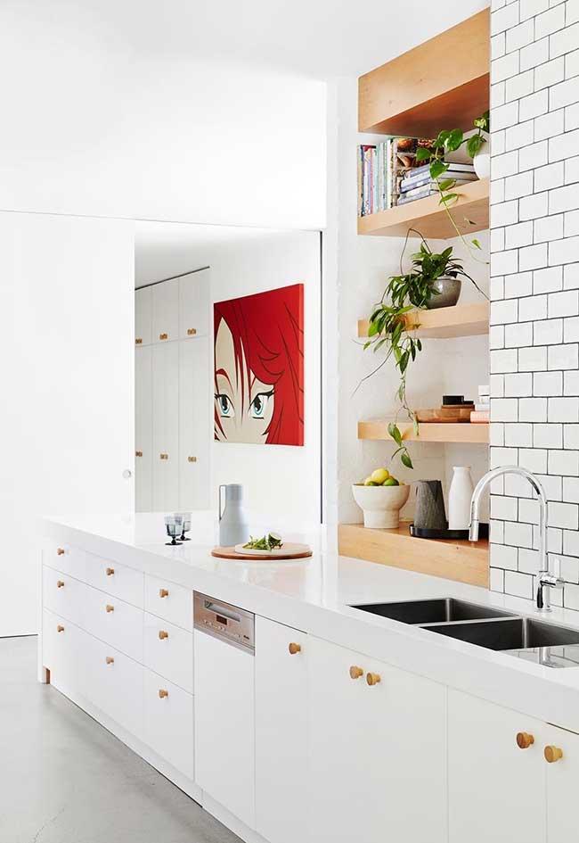Cozinhas modernas com bancadas