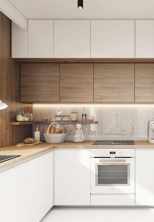 armários suspensos para cozinha moderna