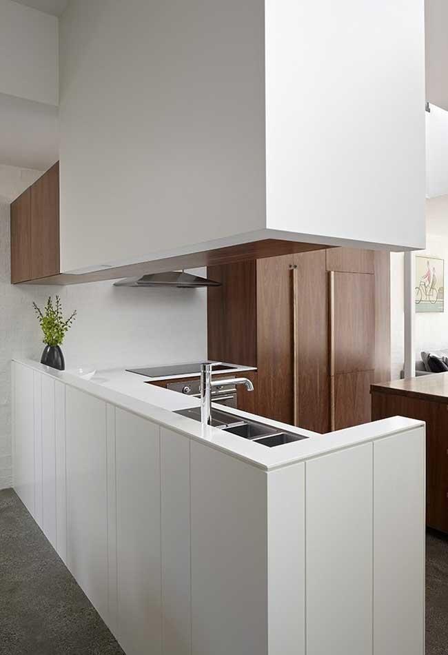 Cozinha moderna num espaço sem divisórias continuação