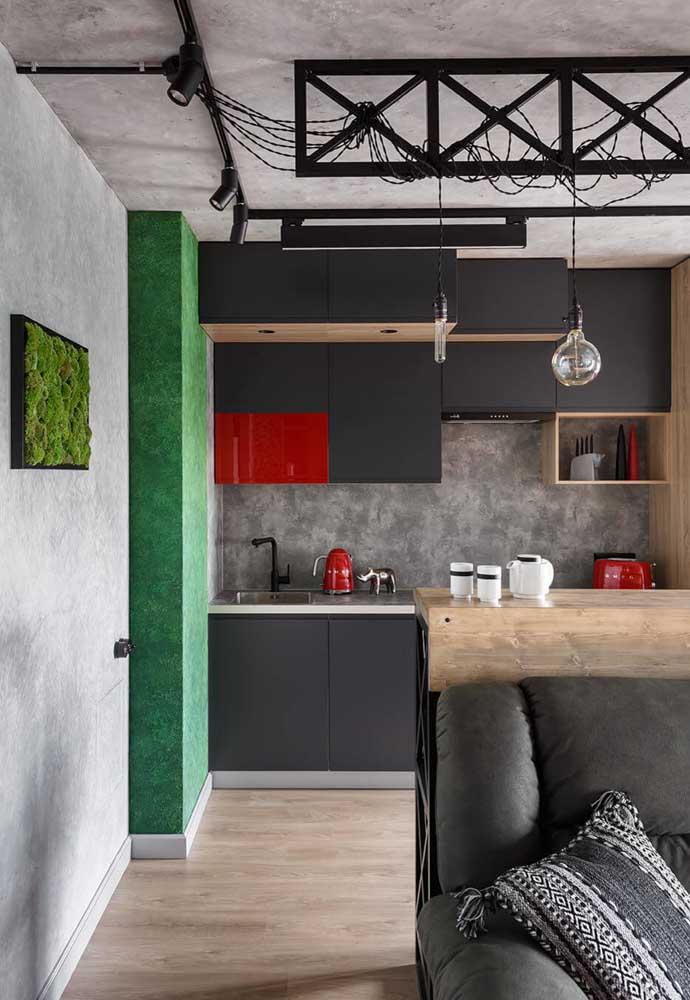 apostar na boa iluminação (natural e artificial) é uma ótima dica para as cozinhas pequenas