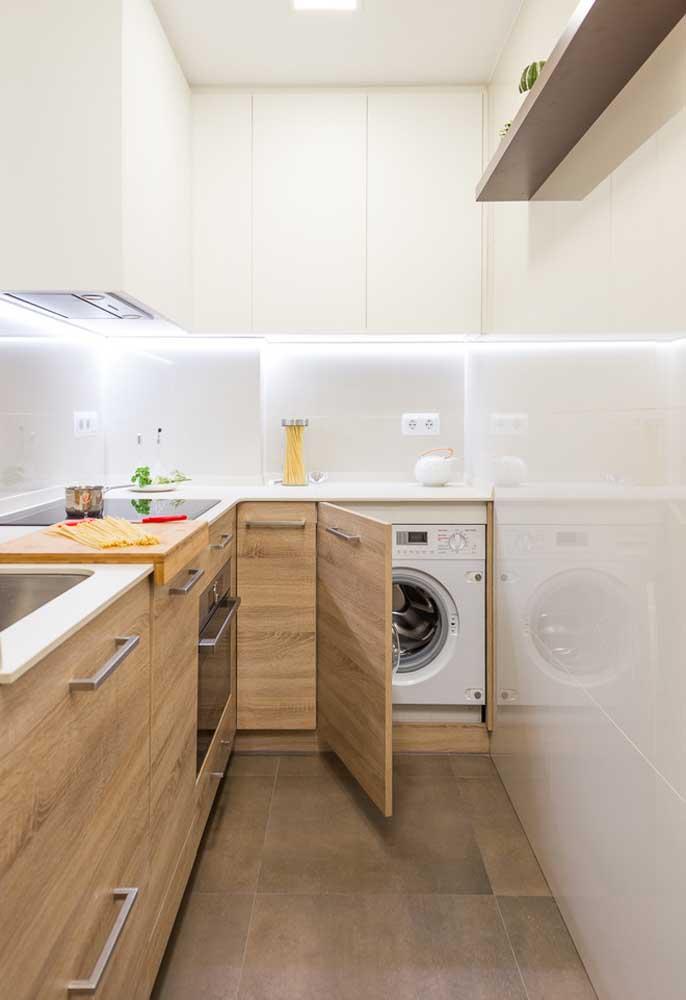 Soluções para apartamentos com cozinha pequena