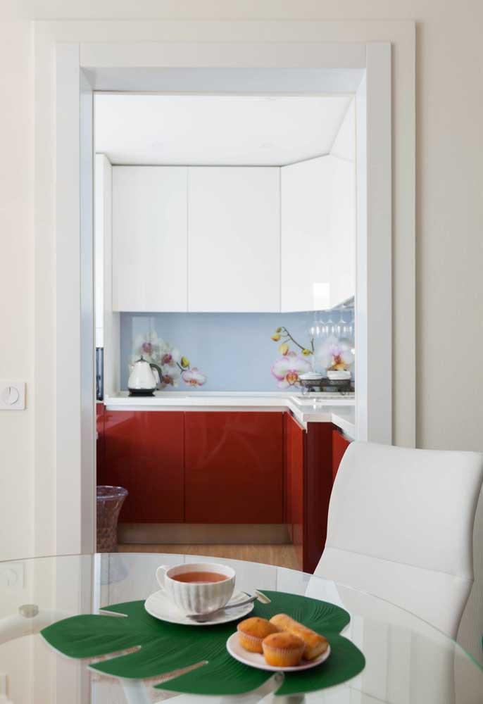 Cozinhas pequenas de apartamento