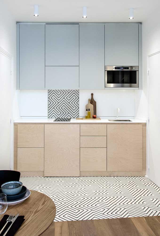 Cozinha bicolor: traga cor para a sua cozinha no revestimento do seu planejado!
