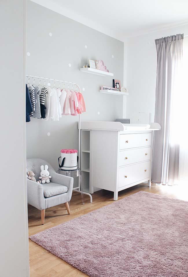 Aposte no conforto e aconchego para a decoração de quarto de bebê