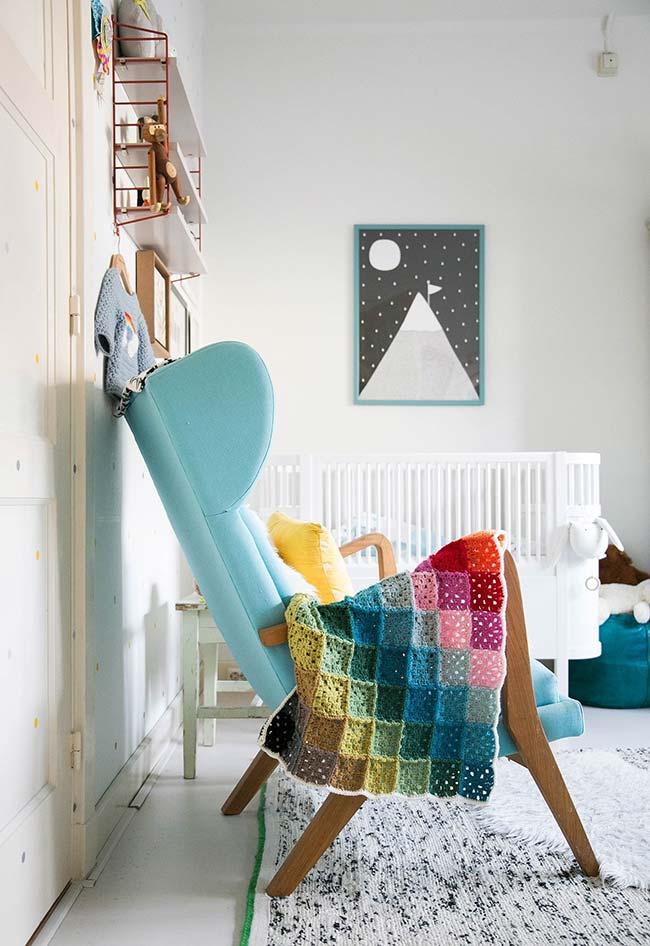 Os itens artesanais trazem mais afeto para dentro do quarto do bebê