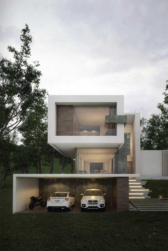 Aqui, a arquitetura se confunde com a fachada; impossível falar de uma sem citar a outra