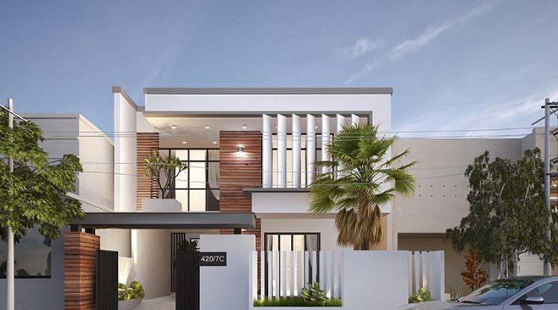 Fachadas de casas: descubra 80 projetos apaixonantes