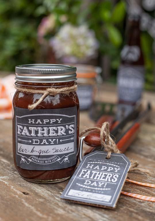 Outra ideia de lembrança para os papais que são verdadeiros mestres churrasqueiros