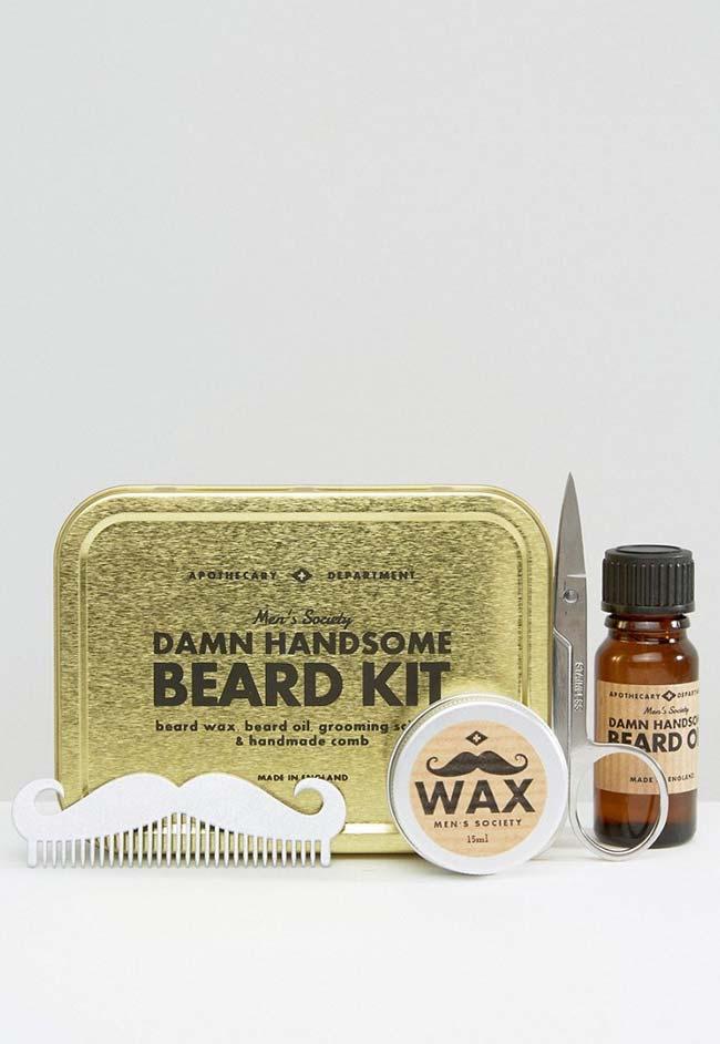 Para os papais barbudos e vaidosos, um kit para se cuidar muito bem