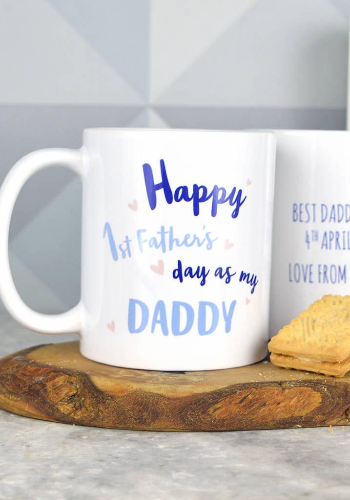 Canecas estampadas para o dia dos pais