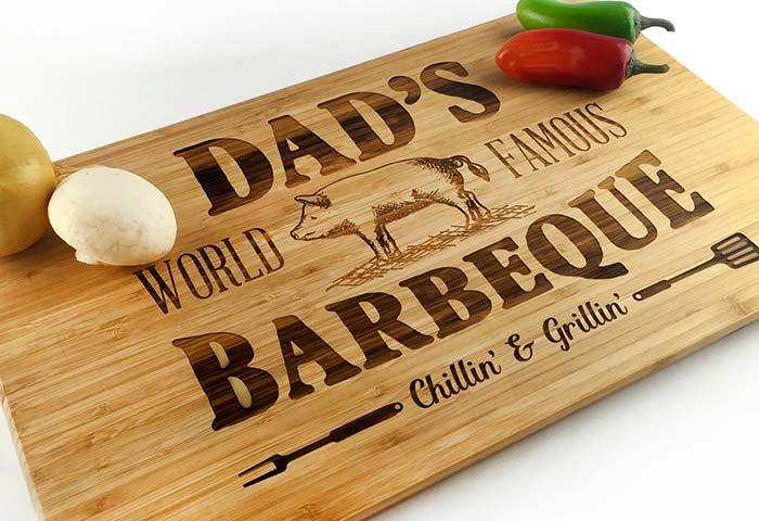 Outra ideia para os papais churrasqueiros