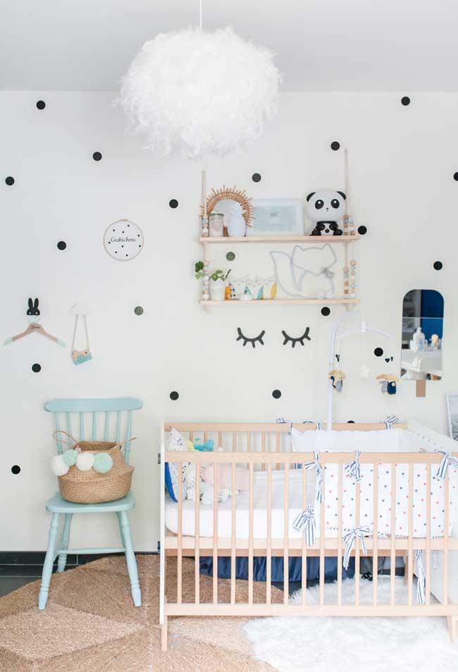 Decoração quarto de bebê feminino