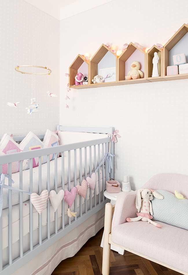 Aposte nos bichinhos e artigos fofos para decorar o berço e o quarto do bebê